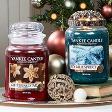 Holiday Sparkle collection from Yankee Candle